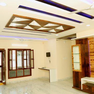 Mr Prabhakar Duplex House Interior By Trishades