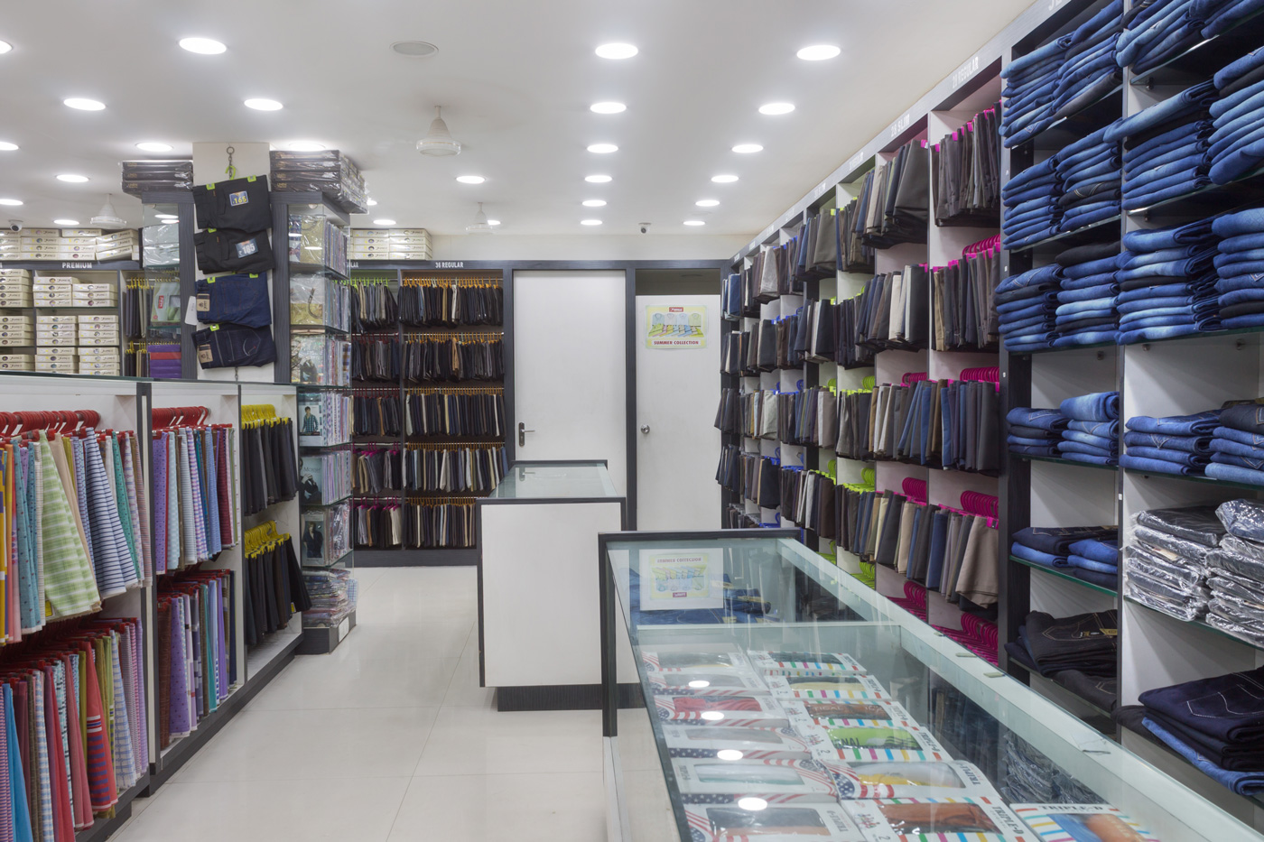 Trishades Interior Kumar Shirts Interior Design Vijayawada