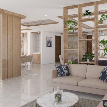 Interior Design for Mr Vamsi Villa - Trishades