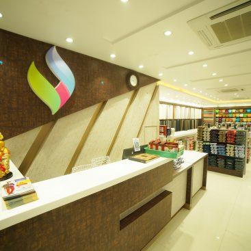 Interior Design for Sree Veda Fashions - Trishades