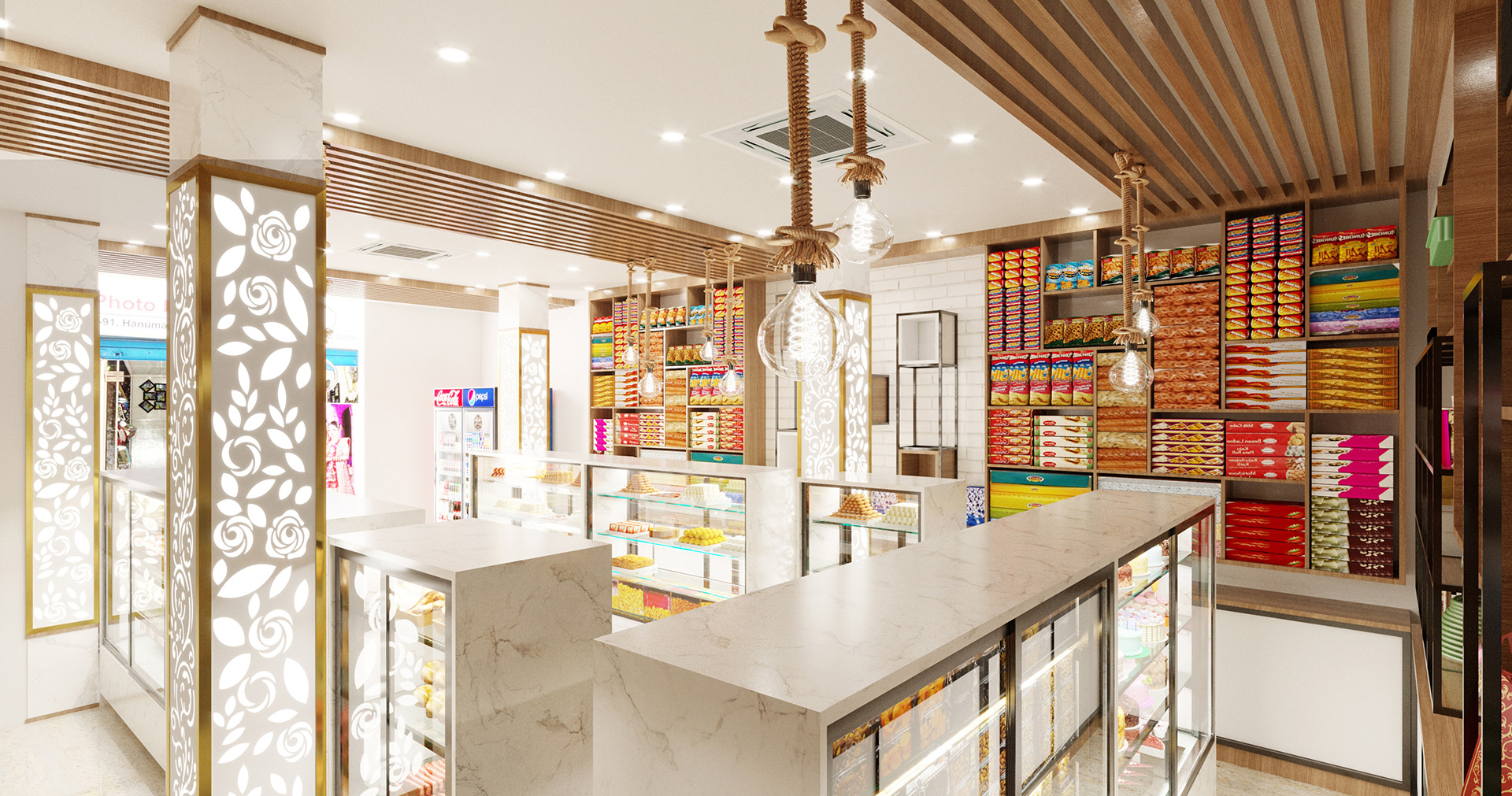 Sweets & Bakery - TriShades - Interior 3
