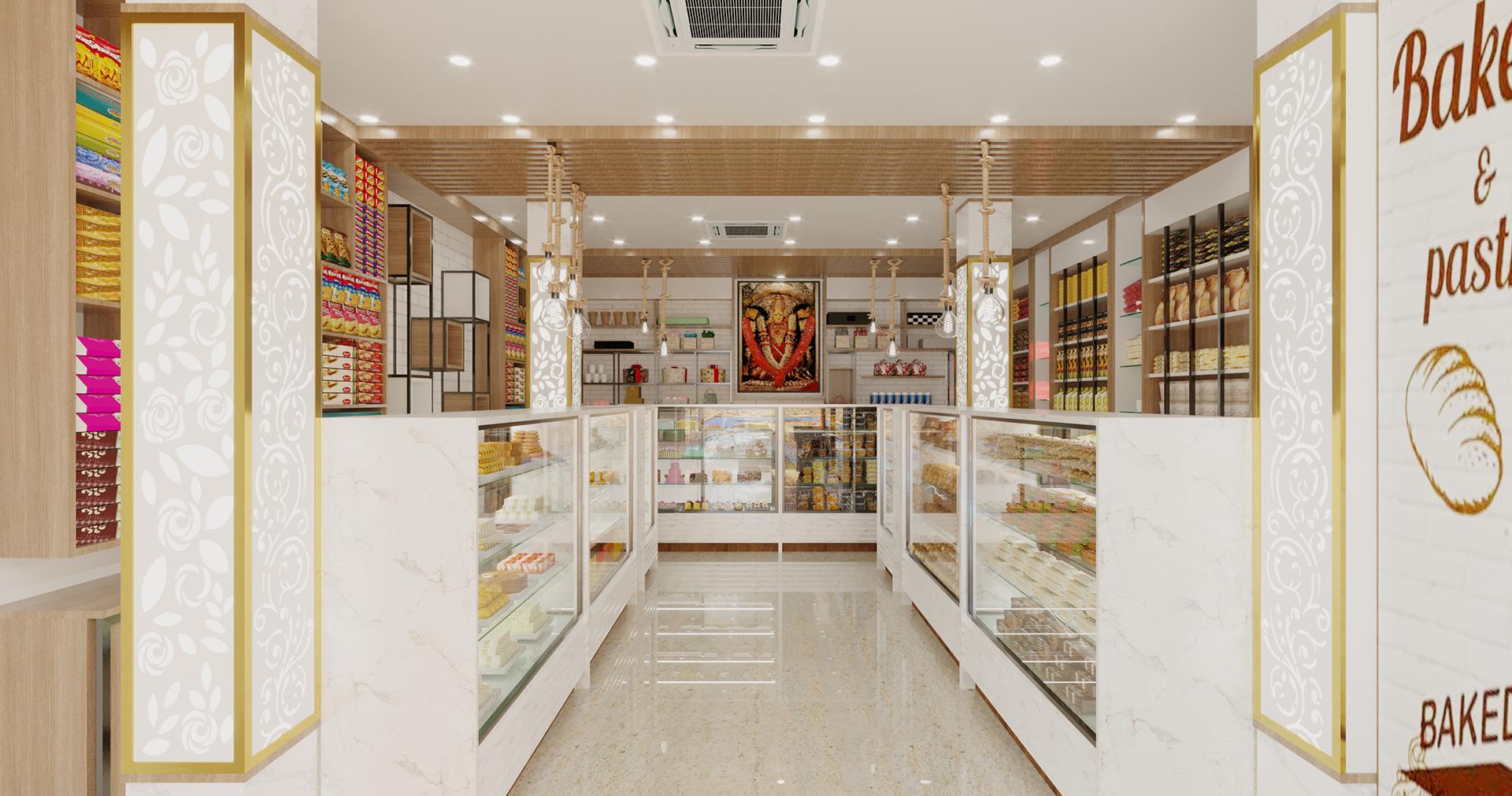 Sweets & Bakery - TriShades - Interior