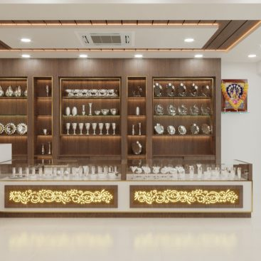 Viswasri Silver Jewellery - Commercial Interior