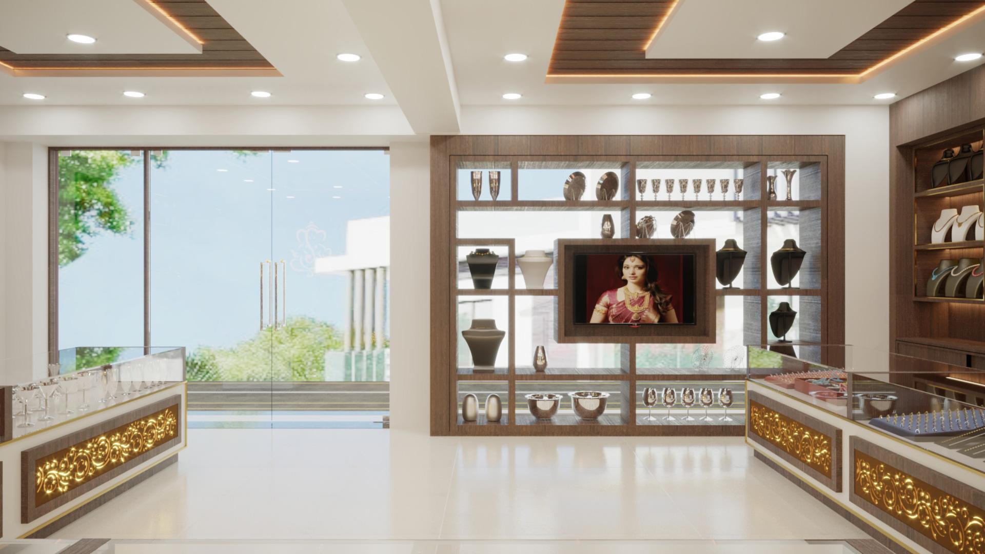 Viswasri Silver Jewelry Interior by TriShades 2